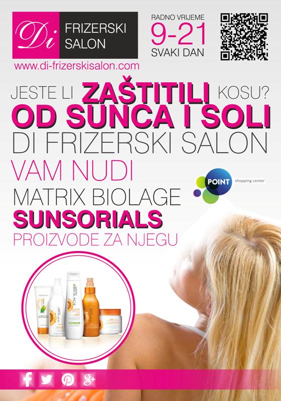 Jeste li zaštitili kosu od sunca i soli ?
