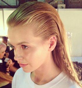 Mokra frizura: Kako oblikovati taj trend
