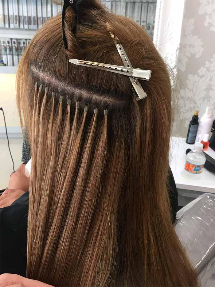 Ekstenzije za dugu i gustu kosu