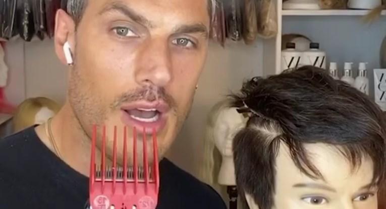 Frizer Kim Kardashian i J.Lo objavio detaljan videotutorijal za šišanje muške kose